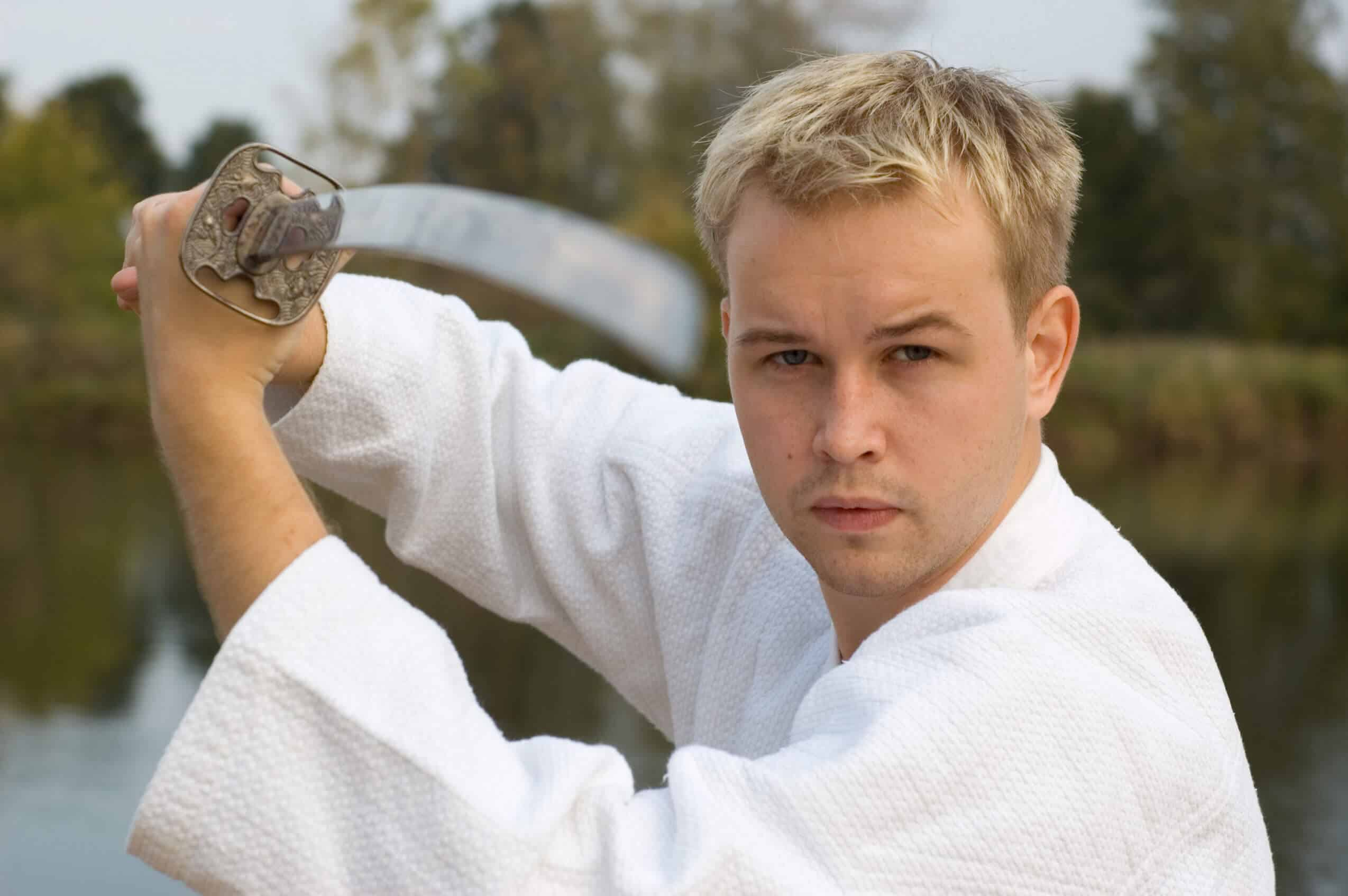 Martial Arts Lessons for Adults in _Williamsburg_ _VA_ - Samurai Sword Posing Blog
