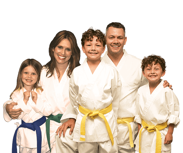 Martial Arts Lessons for Families in _Williamsburg_ _VA_ - Group Family for Martial Arts Footer Banner