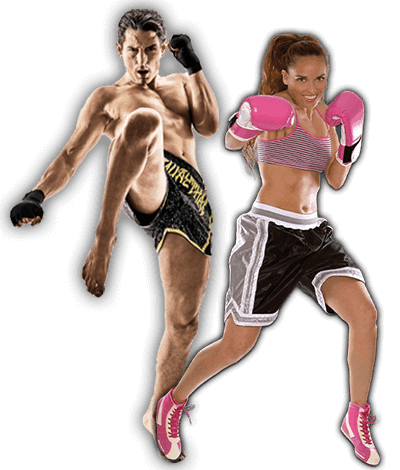 Fitness Kickboxing Lessons for Adults in _Williamsburg_ _VA_ - Kickboxing Men and Women Banner Page