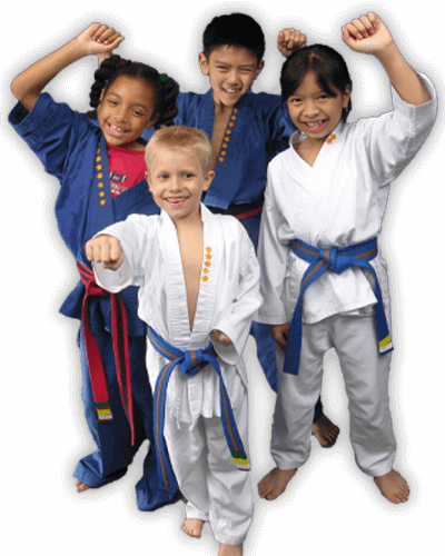 Martial Arts Summer Camp for Kids in _Williamsburg_ _VA_ - Happy Group of Kids Banner Summer Camp Page